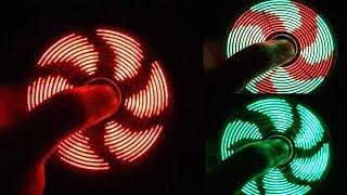 V2 - Assembling LED HAND SPINNER, FIDGET TOY