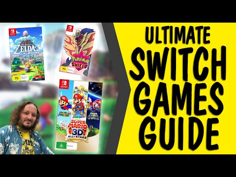 Top NINTENDO SWITCH games - JB Staff Picks