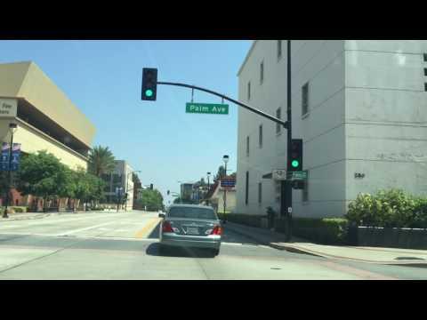 Driving around Burbank