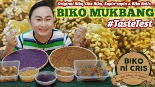 Original Biko, Ube Biko, Biko Balls & Sapin-sapin Taste Test