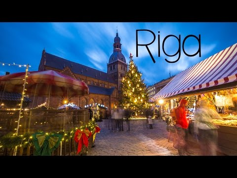 Riga, Lativa at Christmas Time