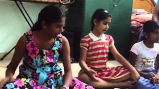 Rupa , Renu singing Ra Ra Venu