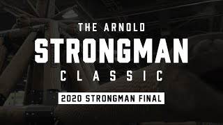 Full Live Stream | Arnold Strongman Classic 2020 - Day 2: Strongman Final