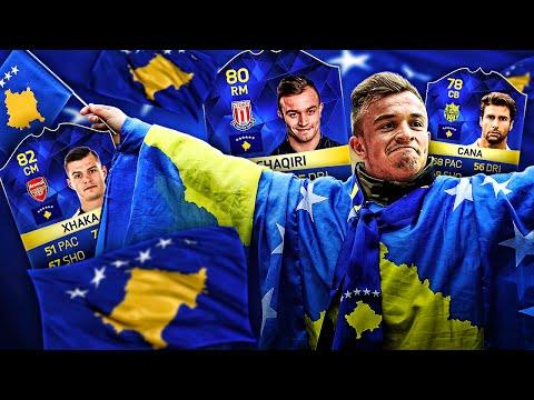 OMG CAPTAIN KOSOVO XHERDAN SHAQIRI AND THE ULTIMATE KOSOVO LEGENDS DREAM TEAM! FIFA 16 ULTIMATE TEAM
