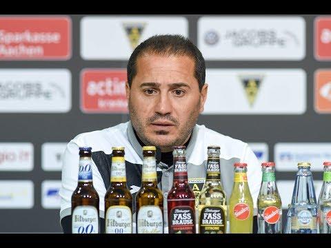 Pressekonferenz nach Düsseldorf