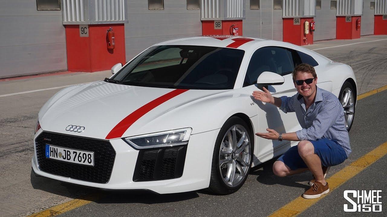 Audi R8 Rws A Rear Wheel Drive R8 Track Test