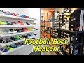 I Built a New House For My Football Boots Collection! - New SR4U Boot Room Tour