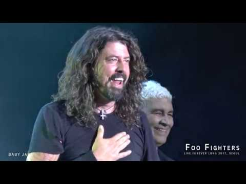 Foo Fighters -  Everlong @ Live Forever Long 2017, SEOUL