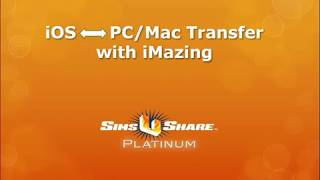 Using iMazing to transfer files between iOS and PC/Mac