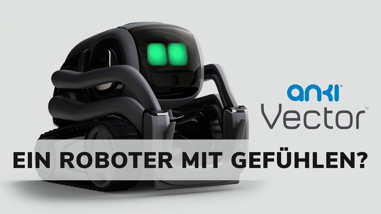 Anki Vector   Ein Roboter mit Gefühlen 🤖 deutsch   Techupdate