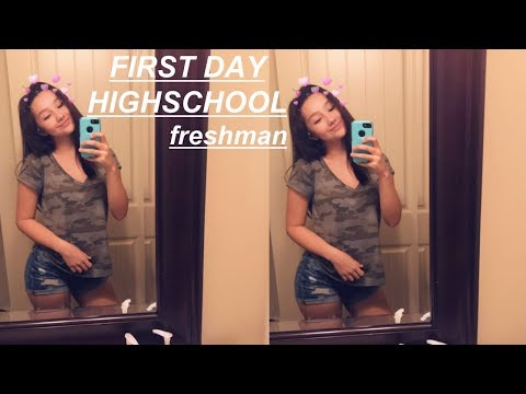 FIRST DAY OF FRESHMAN YEAR VLOG + (NEW KID) EXPERIENCE