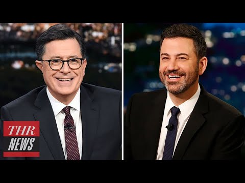 Jimmy Kimmel and Stephen Colbert React to R. Kelly's Explosive Interview With Gayle King | THR News
