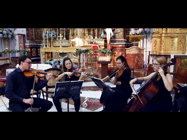 🎻 Marry You | Bruno Mars | Cuarteto para Bodas | Violines para Bodas | Musical Mastia