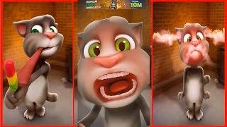 Говорящий Том ПРИКОЛЫ ТОМА виртуальный питомец Tom ИГРА МУЛЬТИК #Мобильные игры