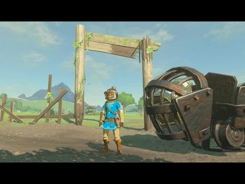 We Built a Crazy Go Kart in Zelda: Breath of the Wild