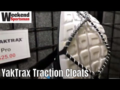 Yaktrax Pro Traction Cleats for Walking, Jogging, or Hiking on Snow and Ice | Weekend Sportsman