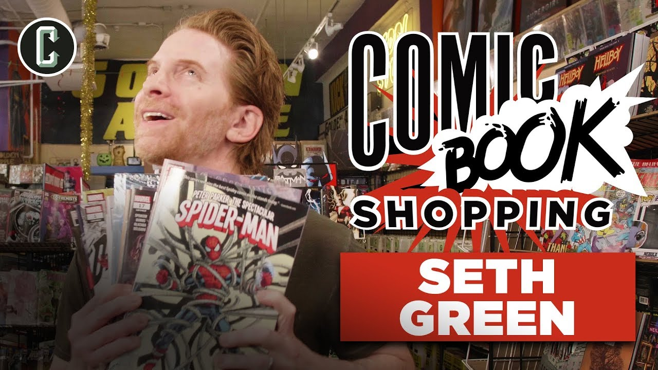 Seth Green Talks His Directorial Debut Changeland and goes Comic Book Shopping