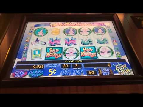 $500 LIVE STREAM AT CASINO! ALL CLASSIC GAMES, MUNSTERS, MONOPOLY, SEA MONKEYS SLOT MACHINES!