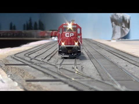 Layout Update - March 2019: SD60 Done, Parking Lot Curbs & Pavement, DIY Airbrush Booth...