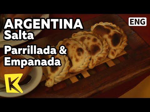 【K】Argentina Travel-Salta[아르헨티나 여행-살타]전통요리, 빠리야다와 엠파나다/Parrillada & Empanada/Food/Roasted Meat