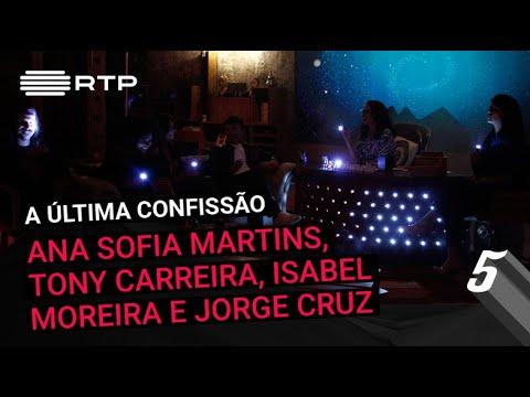 """""""A Última Confissão"""" com Ana Sofia Martins, Tony Carreira, Isabel Moreira e Jorge Cruz"""