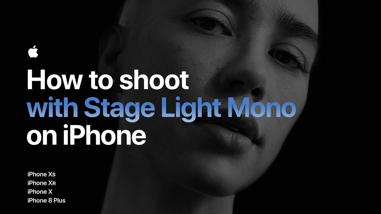How to shoot with Stage Light Mono on iPhone — Apple