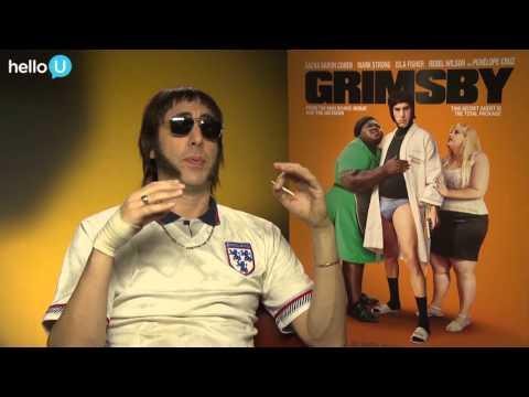 "Sacha Baron Cohen as ""Nobby"" | FUNNY INTERVIEW | MI6 Loyalty Test |"