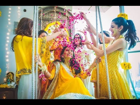 Haldi Function Decor Dress Ideas 2019 Shaadidukaan Youtube