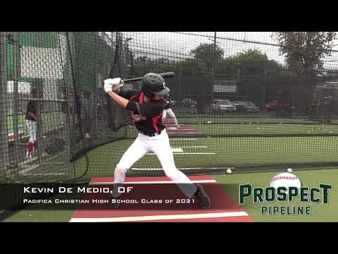 Kevin De Medio Prospect Video, OF,Pacifica Christian High School Class of 2021