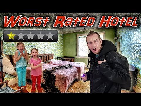 Staying At The Worst Reviewed Hotel In New York City! (Bullet Holes Found)