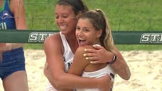 ASUN Beach Volleyball Tournament Day 2 Highlights
