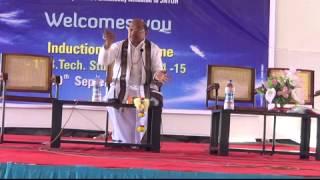 Garikipati Narasimha Rao Speech on 12 Sept 2014 At VBIT Campus