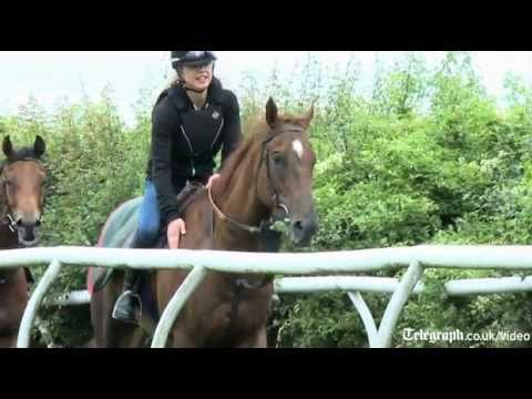 Radio 1's Sarah Cox transforms from disc to horse jockey for Goodwood invitational
