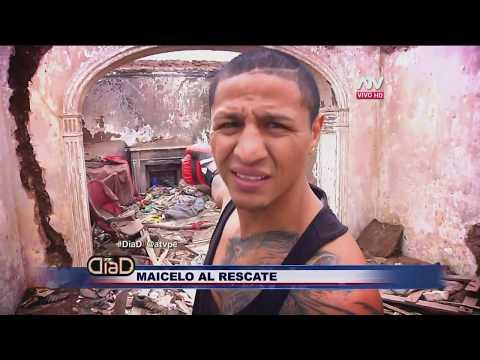 Jonathan Maicelo al rescate de los nios del Per