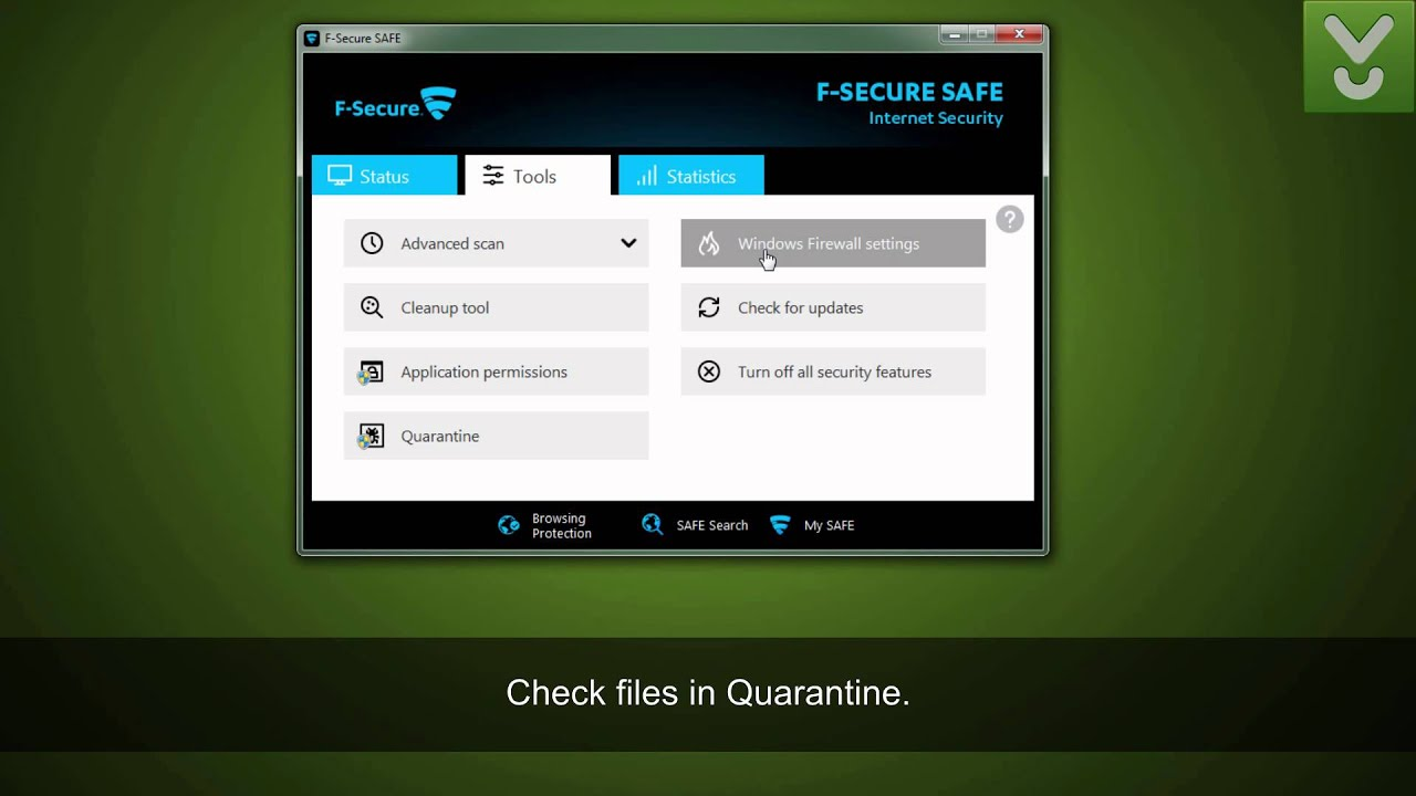 F-Secure Safe Internet Security - Protect your PC against viruses - Download Video Previews ...