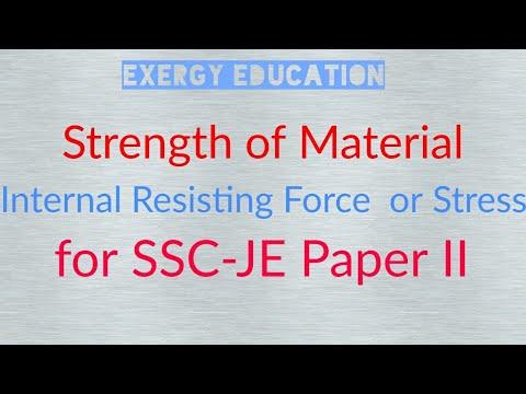 #2 SOM : Stress or Internal Resisting Force (IRF)