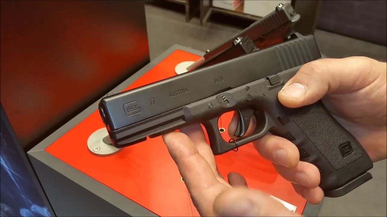 Umarex Glock 17 Gen 3 CO2 Diabolo Blowback / IWA 2018