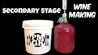 How to make Wine part 2- Secondary Stage - PoorMansGourmet