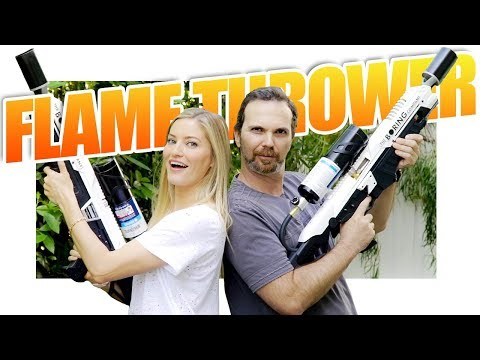 Flamethrower Unboxing!