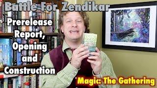 MTG - Battle For Zendikar Prerelease Kit Opening for Magic: The Gathering