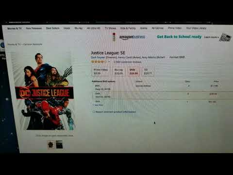 Justice League SE Shows Up On Amazon And It Doesn't Mean 'Snyder Edition'