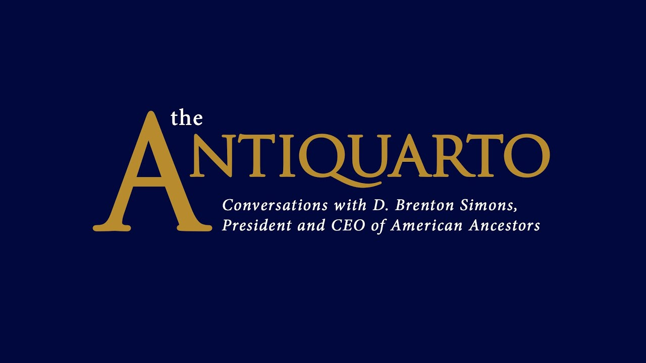 The Antiquarto, Episode 1: Conversation with Curt DiCamillo
