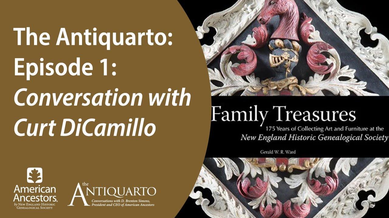 The Antiquarto, Episode 1: Conversation with Curt DiCamillo