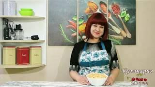 Салат с корейской морковью и маринованными грибами