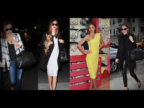 4 Miranda Kerr Looks in 24 Hours! | Victoria's Secret Fashion | Fashion Flash