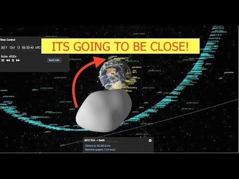 Asteroid TC4 to Skim Earth So Close, NASA Testing Planetary