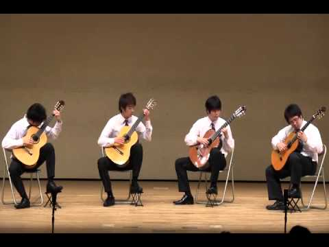 The Road to Lisdoonvarna (Classic Guitar Quartet)
