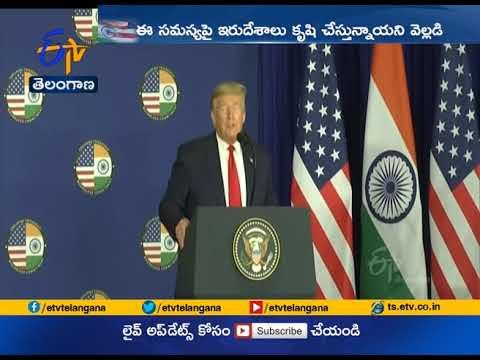 Trump calls Kashmir