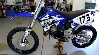 making 1998 YZ125 LOOK NEW  2017!!