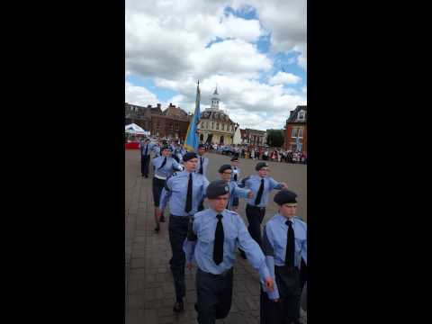 42f freedom of west Norfolk parade. Kings lynn #sp